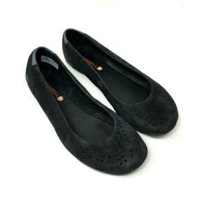 Merrell Mimix Haze Suede Leather Walking Shoes 8.5